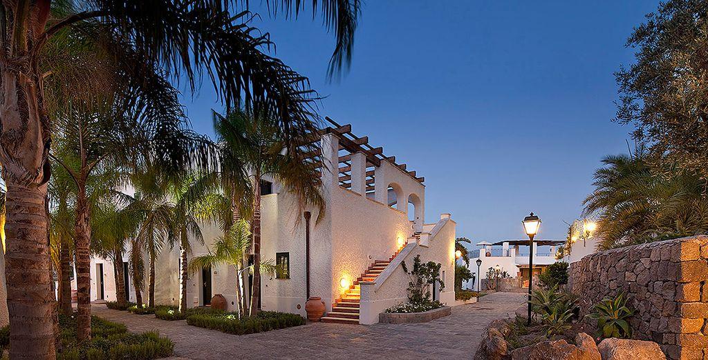 Resort moderno composto da nove ville
