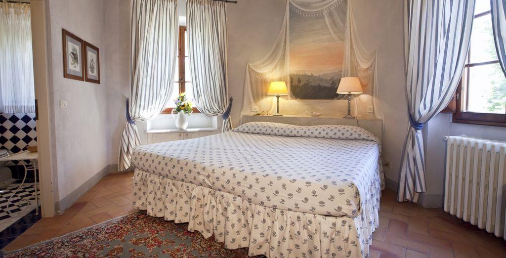 Per il vostro soggiorno vi abbiamo riservato le accoglienti Camere Classic