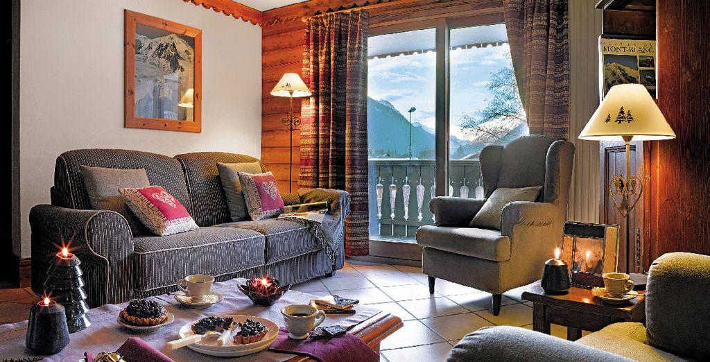 Benvenuti al Residence Premium la Ginanelle, dove potrete riposare nel vostro appartamento chic e accogliente