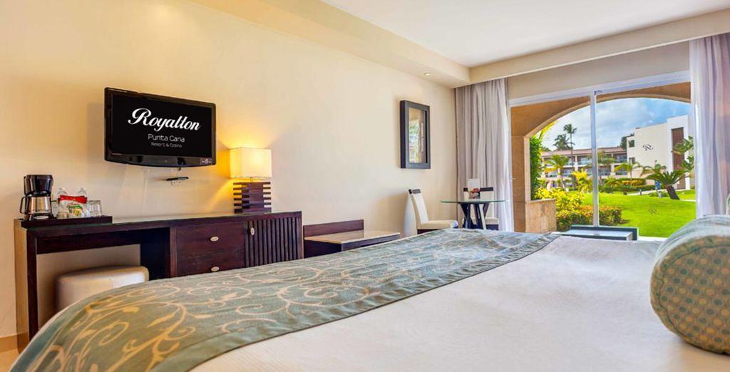 progettata per farvi vivere un soggiorno di lusso e tranquillità