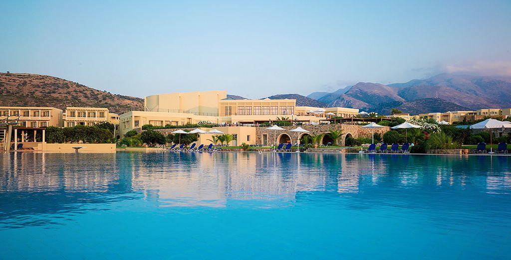 un hotel moderno ed elegante nel cuore di Creta