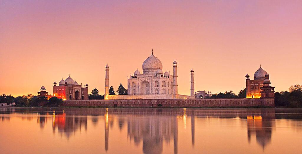 Dove visitere il famoso Taj Mahal, una delle meraviglie del mondo