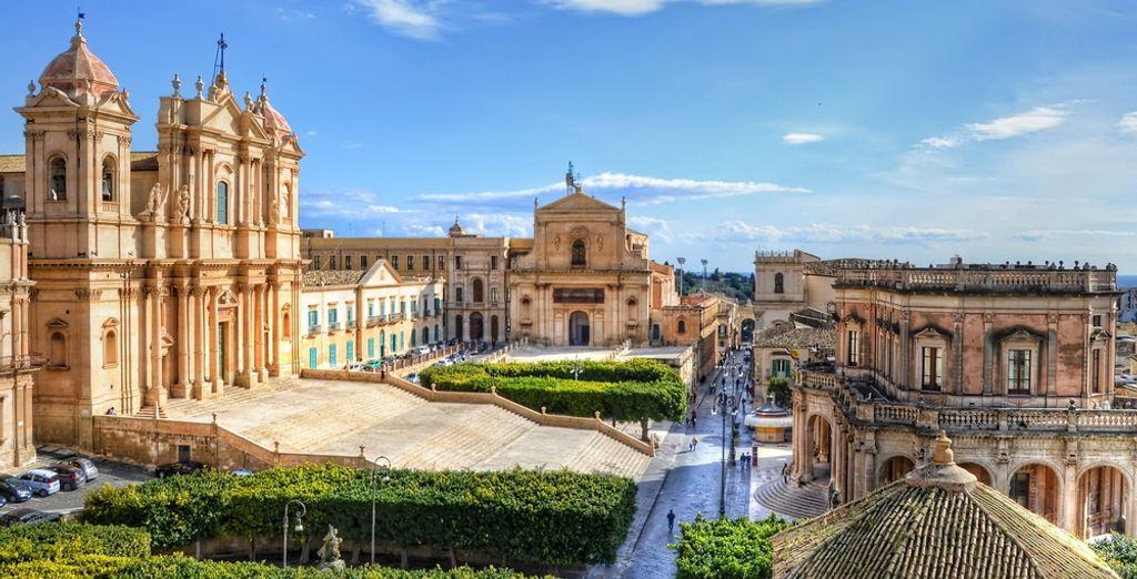 Visitate Noto e le sue belle chiese barocche