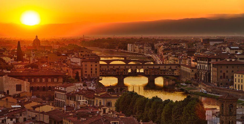 Venite a vivere la bellezza di Firenze in prima persona!