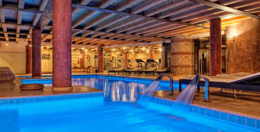 Questo splendido hotel è la meta ideale dove ripristinare il vostro benessere