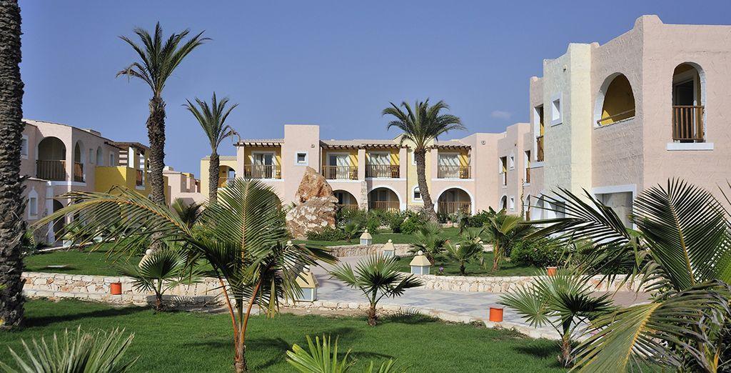 In uno splendido resort 5*