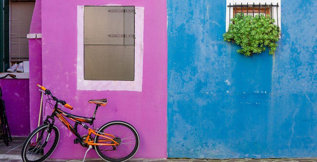 Queste coloratissime abitazioni sapranno conquistarvi
