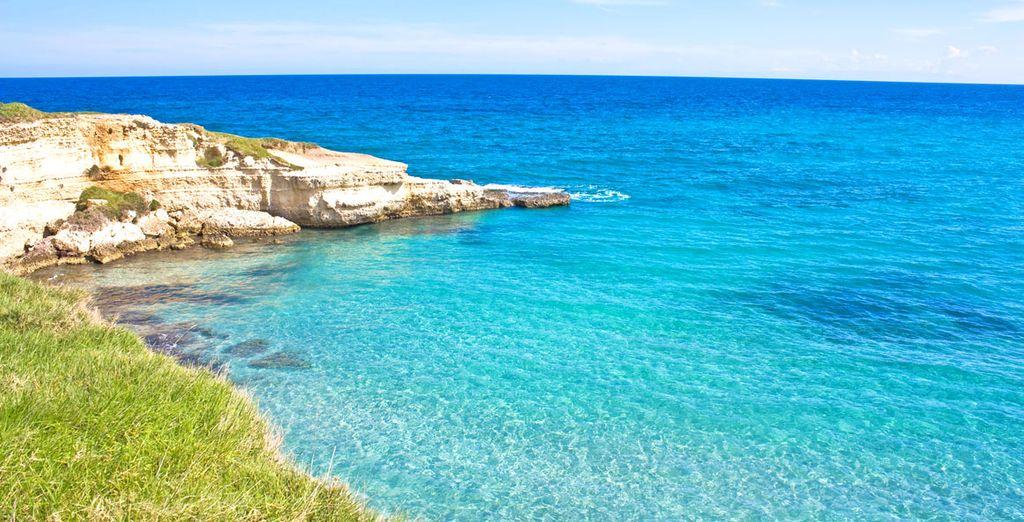 Esplorate le famose spiagge del Salento