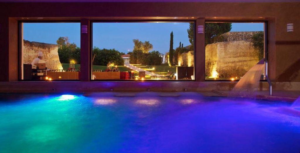 Rilassatevi nella bellissima spa