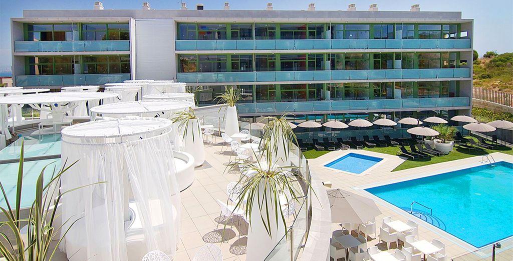 Soggiornate in un moderno Resort di design nel cuore di Salou