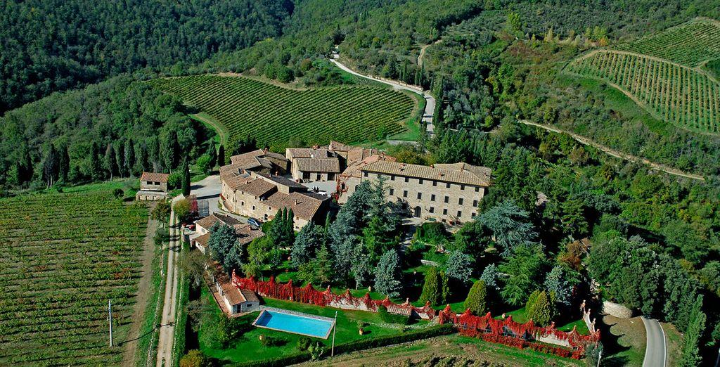 Lo splendido Agriturismo Borgo Castelvecchi vi sta aspettando a Radda in Chianti