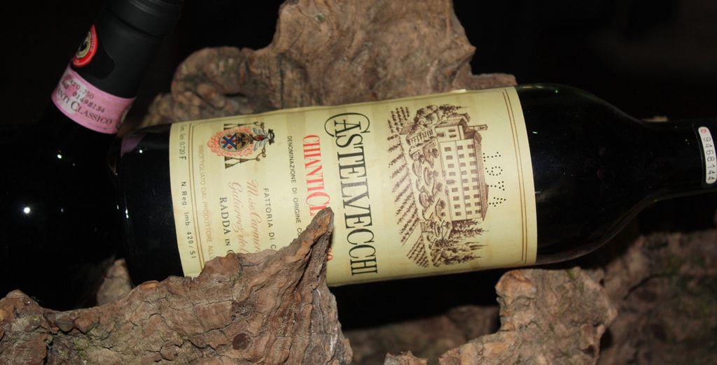 accompagnati da vini pregiati di produzione locale