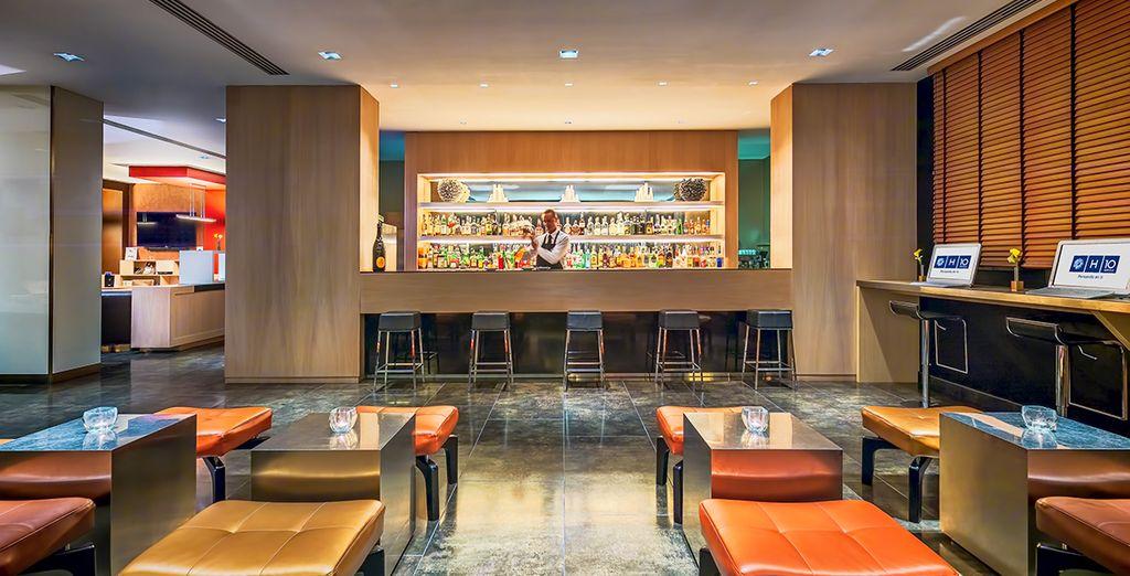 Il Lounge Bar dell'hotel saprà deliziarvi con cocktail sapientemente preparati