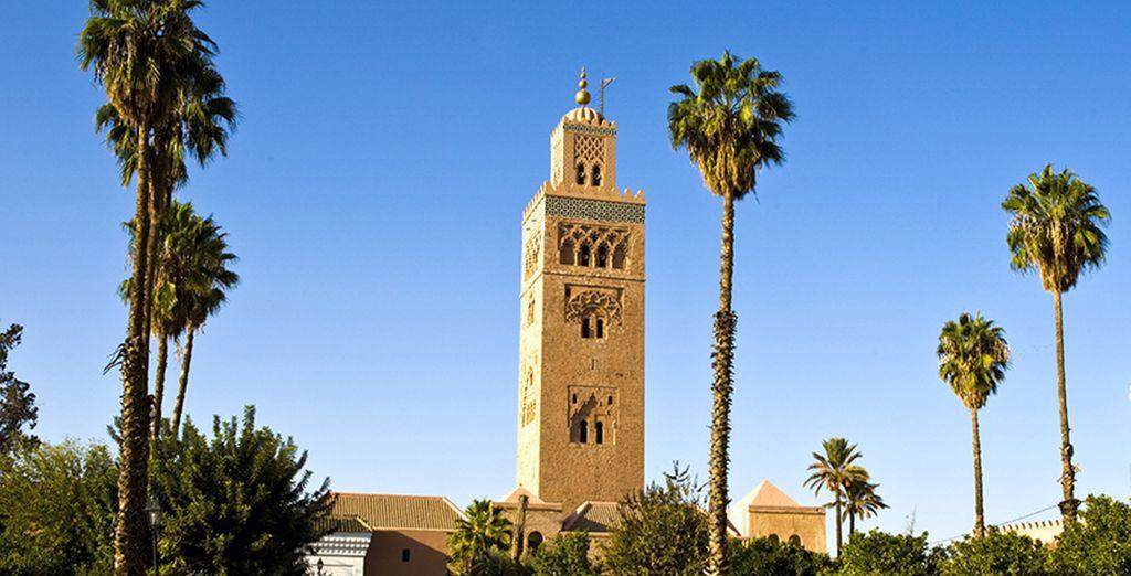 Marrakech vi attende