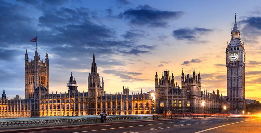Fotografia della capitale di Londra