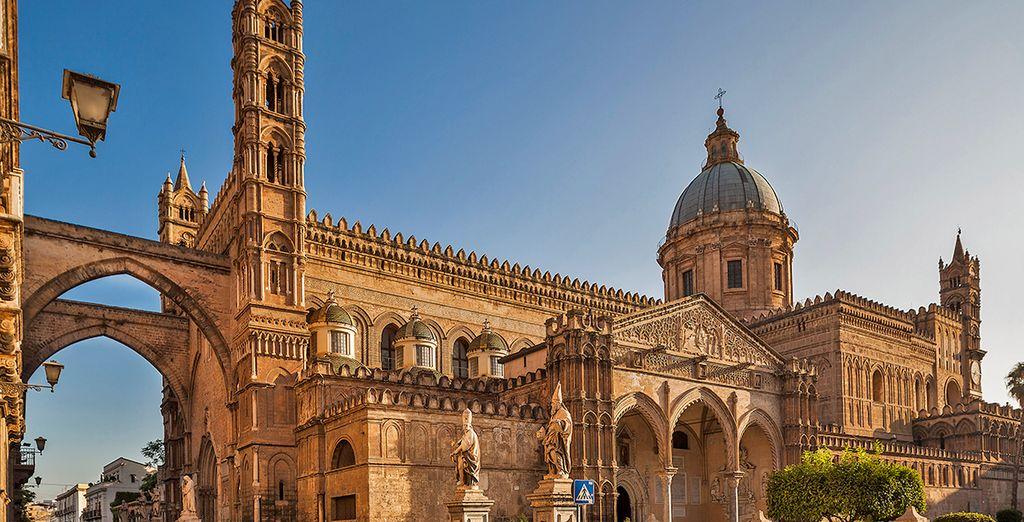 Fotografia di Palermo e dei suoi monumenti storici