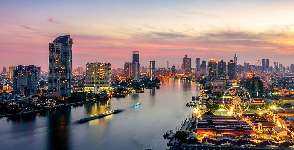 Fotografia della città di Bangkok