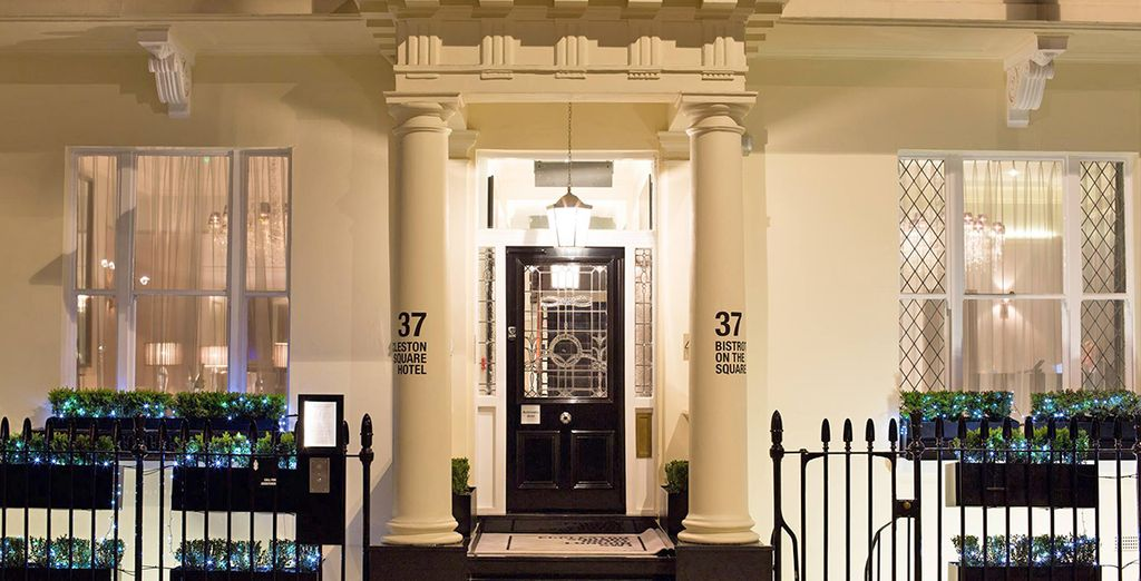 Eccleston Square Hotel 4* Voyage Privé : fino a -70%