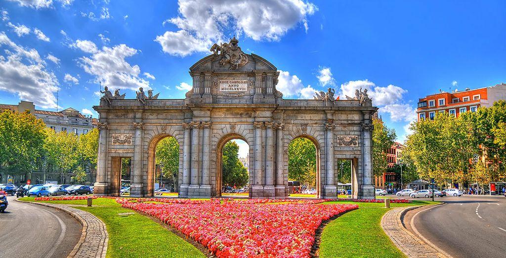 Fotografia del Parco della Ciutadella a Madrid
