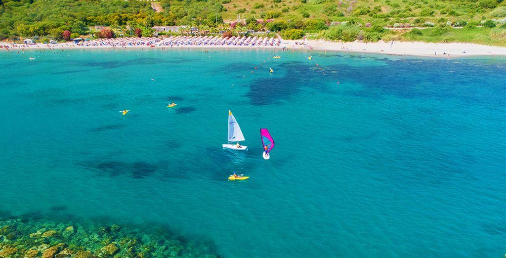 Spiagge e acque turchesi di Sciacca in Italia per un weekend ferragosto in mare