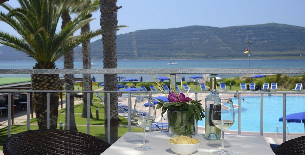 Hotel 4 stelle di alta gamma con ristorante gourmet e piscina all'aperto in Sardegna, Alghero