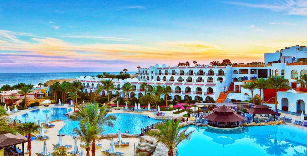 Prestigioso hotel 4 stelle a Sharm El Sheikh, Egitto con piscina esterna riscaldata e zona relax