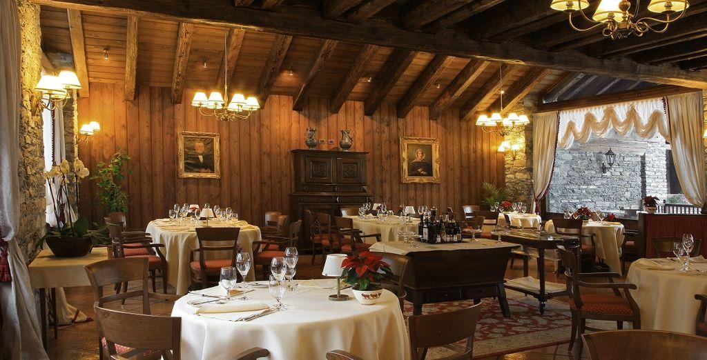 Hotel di lusso a 5 stelle e ristoranti gourmet a Courmayeur, Italia