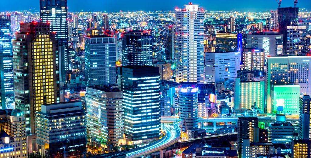 Tour del Giappone tra città e spiagge bianche