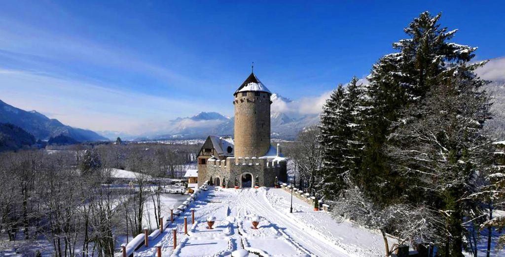Il Boutique Hotel Schloss Matzen 4* è pronto ad accogliervi nel cuore del Tirolo