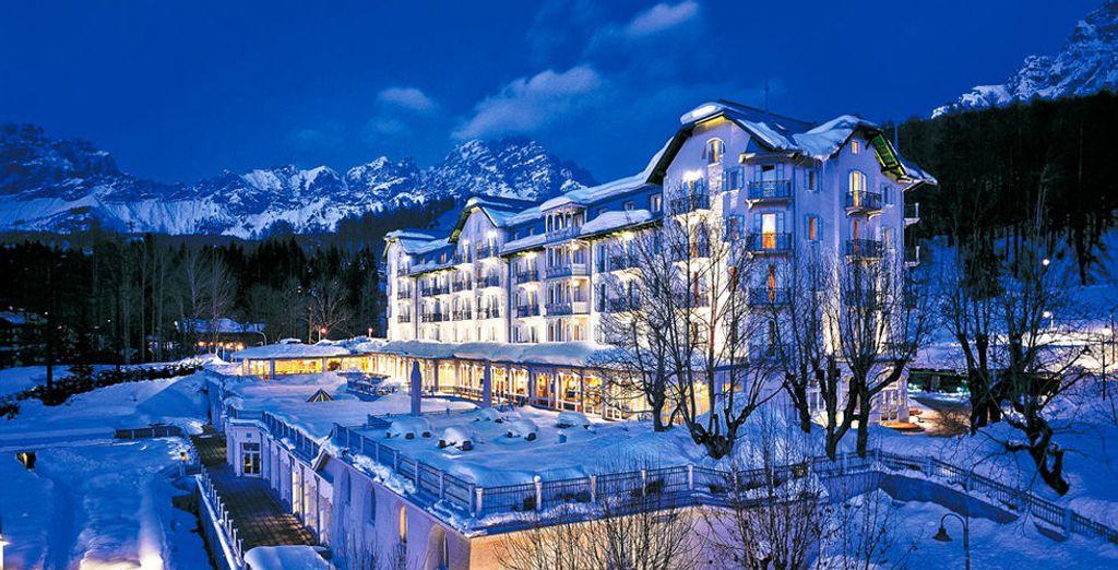 Benvenuti all'Hotel Cristallo a Cortina