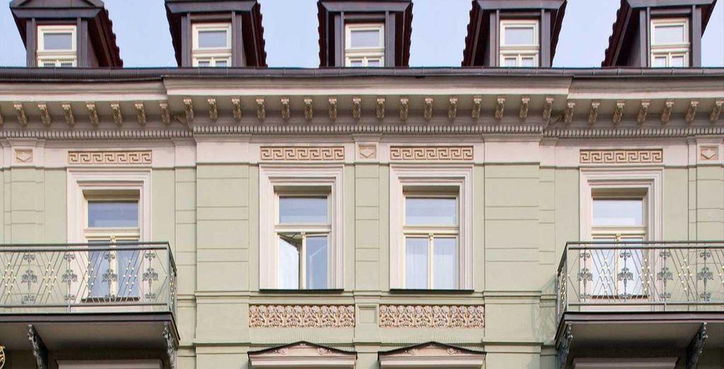 Un edificio storico in pieno centro è la location perfetta per il vostro soggiorno