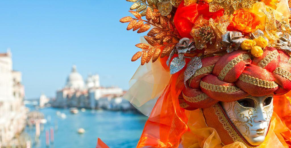 Vivete la magia del Carnevale di Venezia