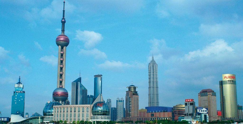e poi vi immerete nella moderna Shanghai