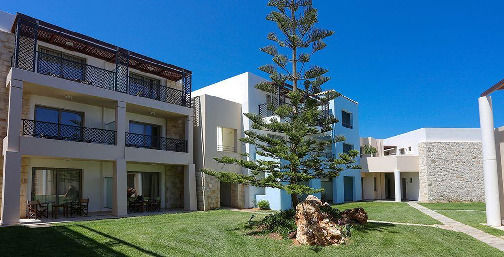Linee moderne e comfort di qualità che creano il connubio perfetto con l'ambiente circostante
