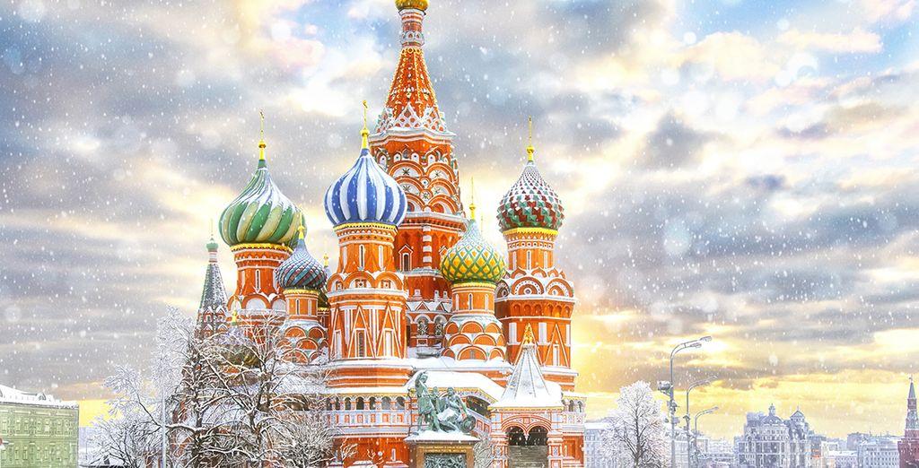 il fascino di Mosca vi rimarrà nel cuore