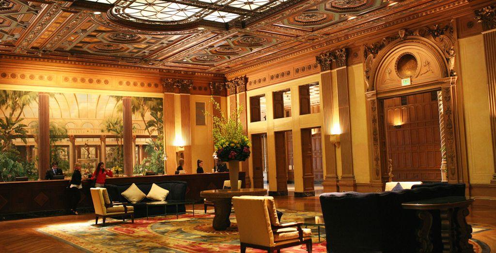 dove l'elegante Hotel Baltimore vi accoglierà