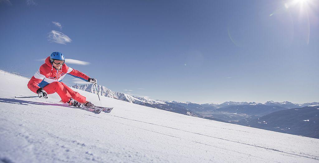 vivete le emozioni della neve in Val Pusteria!