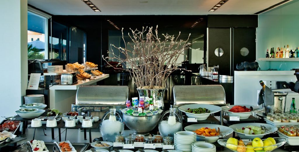 dove gusterete un'ottima colazione a buffet