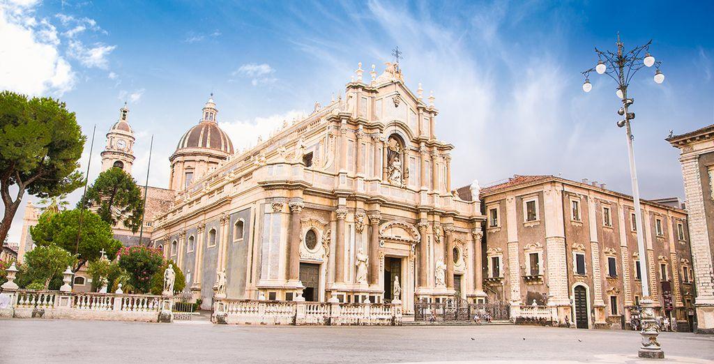 Catania : Duomo e la sua piazza