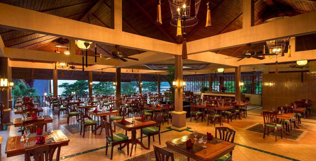 Provate i ristoranti e i bar dell'hotel