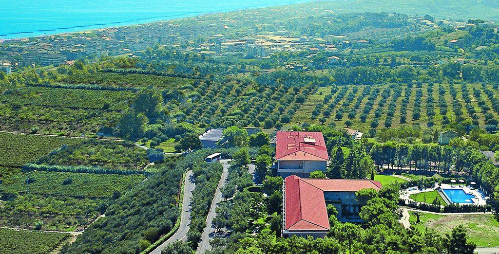 Una vera e propria oasi di pace a breve distanza dal mare