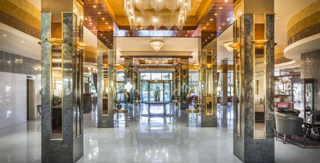Prossima tappa sarà il lussuoso Hotel Metropol 5*