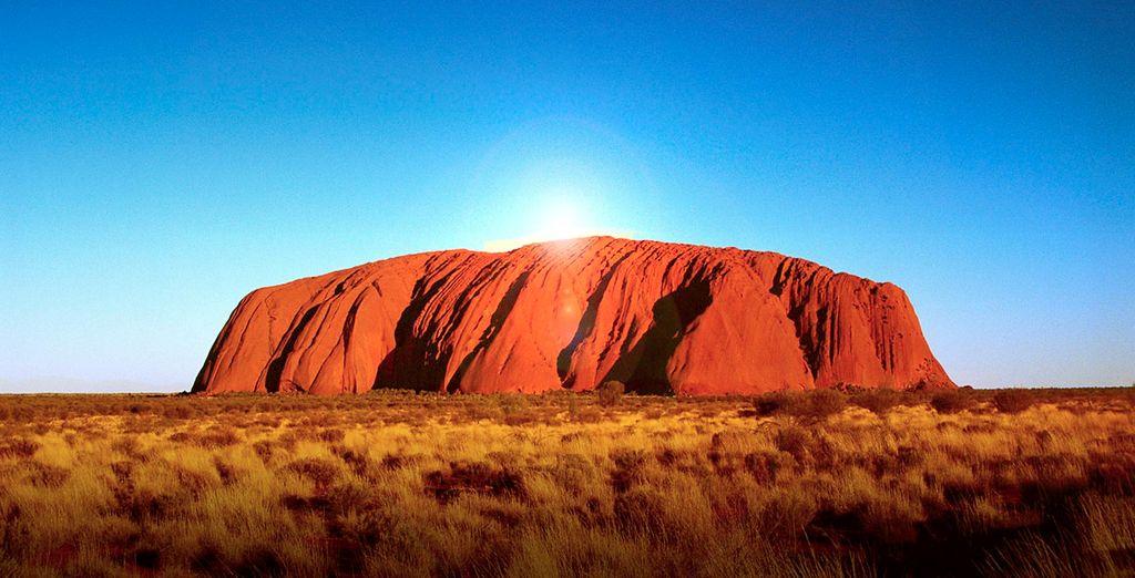Fotografia di Uluru, una formazione rocciosa da non perdere in Australia