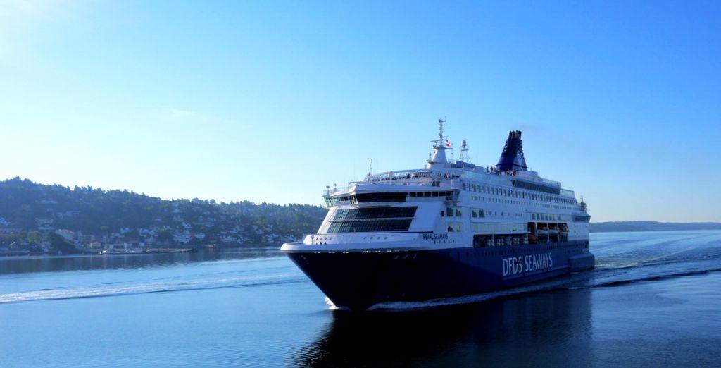 Salpate a bordo della minicrociera DFDS sulla tratta Oslo-Copenhagen