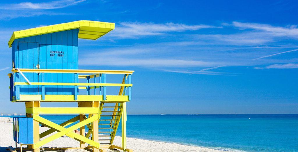 Relax e ozio sulle spiagge di sabbia bianca della Florida