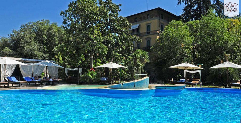 Vivete un soggiorno tra lusso e benessere nel cuore di Montecatini Terme