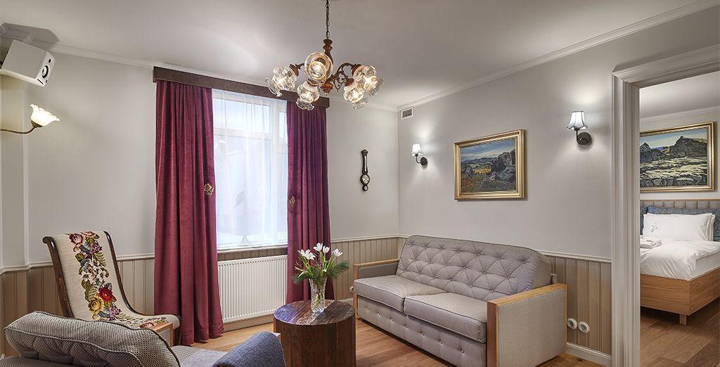 Confortevole suite a quattro stelle e residenza in Islanda