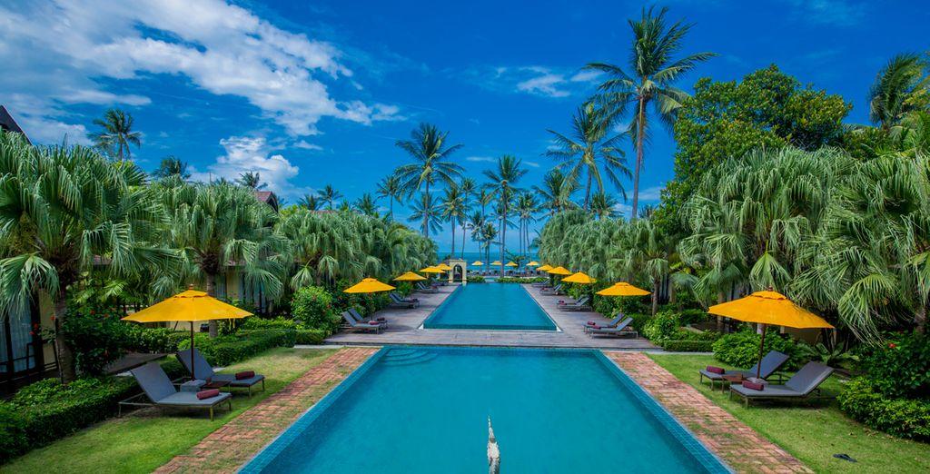 dove vi accoglie l'elegante The Passage Samui Villas & Resort 5*