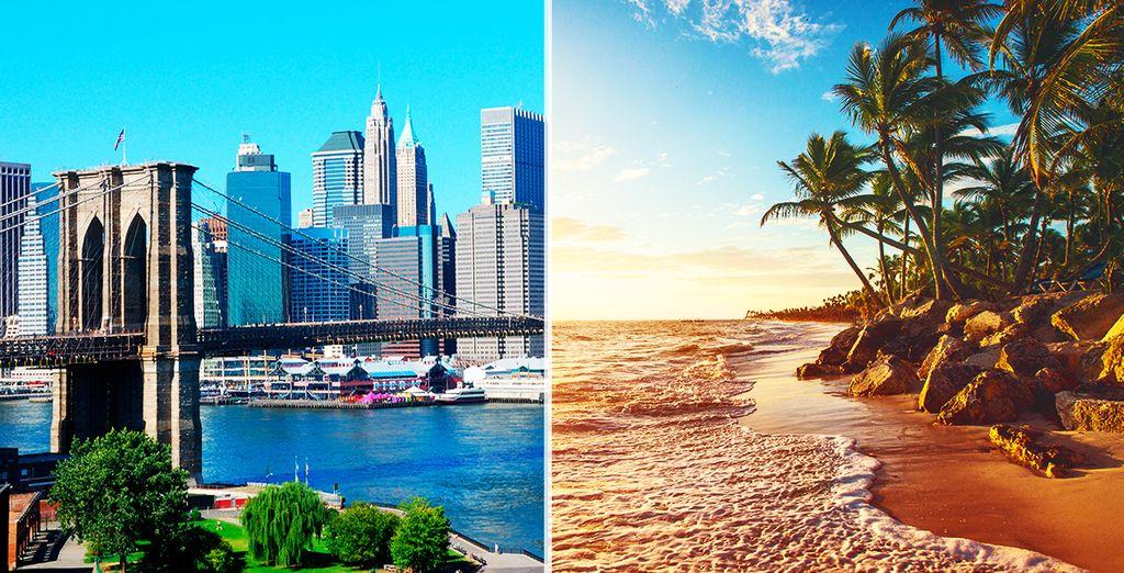 Siete pronti per un viaggio straordinario tra New York e Punta Cana?
