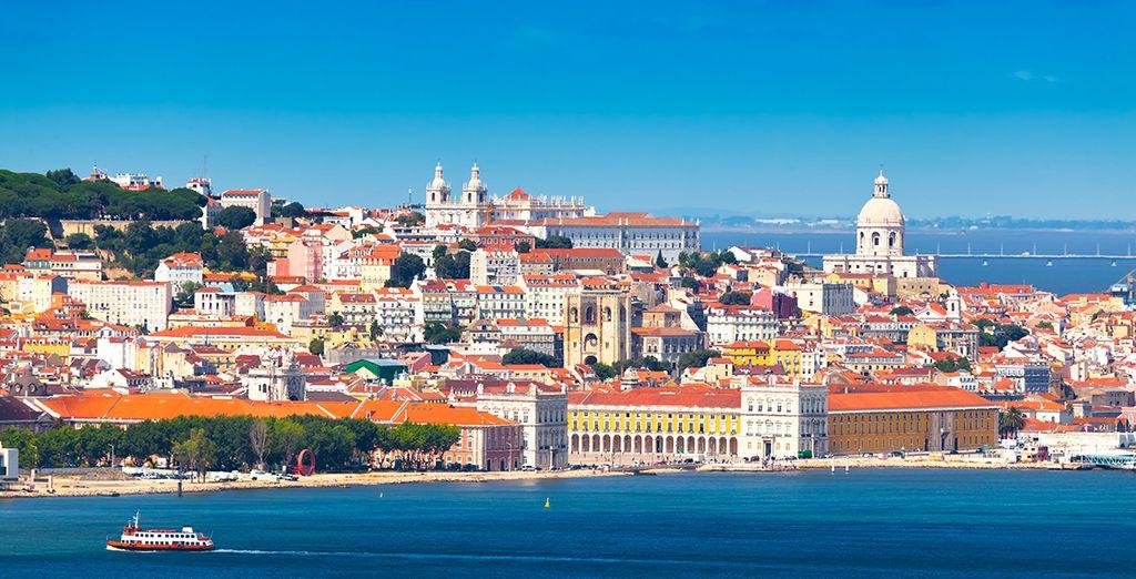 Lisbona riserva scorci meravigliosi
